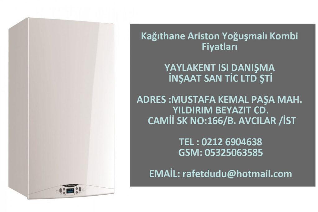 Kağıthane Ariston Yoğuşmalı Kombi Fiyatları – 05325063585