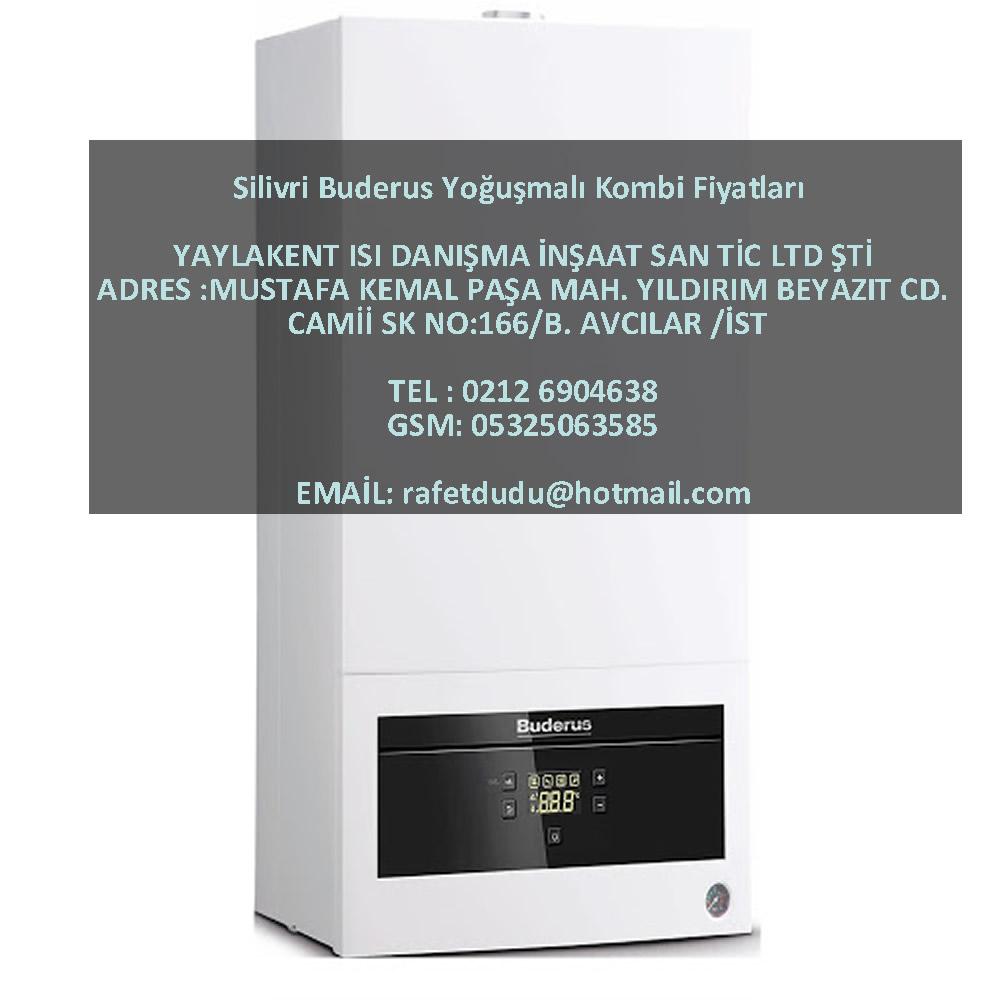 Silivri Buderus Yoğuşmalı Kombi Fiyatları – 05325063585