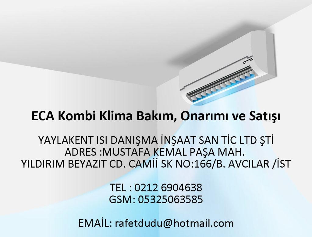 Kıraç ECA Yoğuşmalı Kombi Fiyatları – 05325063585