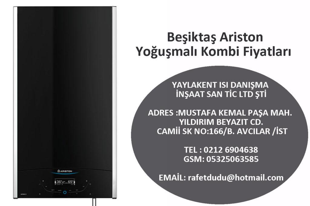 Beşiktaş Ariston Yoğuşmalı Kombi Fiyatları